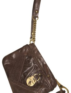 Juicy Couture Wristlet in Brown