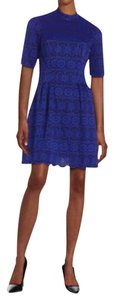 Vince Camuto Scalloped Lace Vince Royal Dress