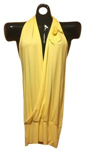diab less yellow Halter Top