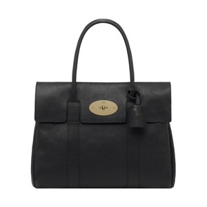 Mulberry Bayswater Brass Made In England Tote in Black