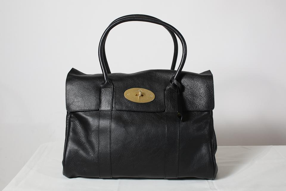 Mulberry Bayswater Black Leather Tote - Tradesy d97037b2a5e8f