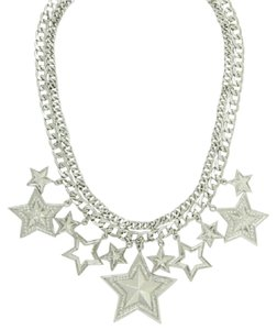 BCBGeneration Multi Star Necklace
