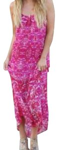 pink and white Maxi Dress by Show Me Your Mumu