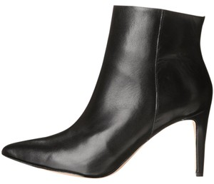 Sam Edelman Ankle Pointed Toe Stiletto Zipper Closure Black Boots