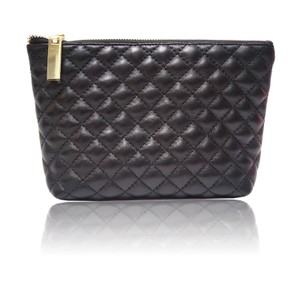 MPS Inc. Quilted Black Cosmetic Bag