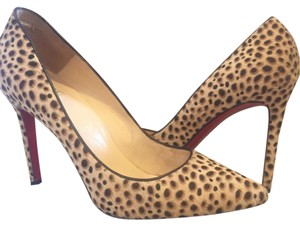 Christian Louboutin Pigalle So Kate Leopard Red Bottoms Louboutin Pumps