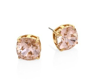Tory Burch NEW!! Tags Vintage Rose Gold Swarovski Crystal Stud Earrings NWT