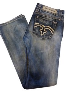Rock Revival Boot Cut Jeans-Distressed