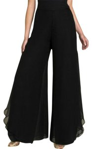 St. John Wide Leg Pants Black