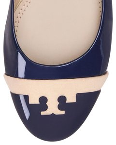 Tory Burch navy/blush Flats