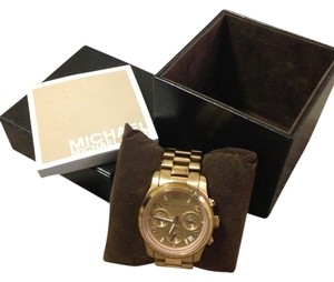 Michael Kors Michael Kors Rose Gold Watch - Runway