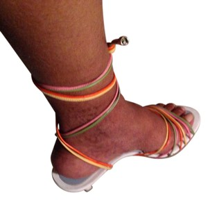 Lambertson Truex multi colored Sandals