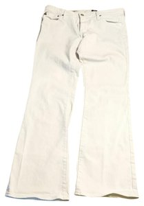 AG Adriano Goldschmied Size 6 Boot Cut Jeans-Light Wash