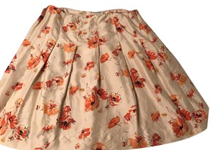Banana Republic Skirt orange, beige