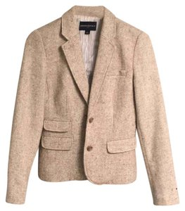 Banana Republic tweed/tan Blazer