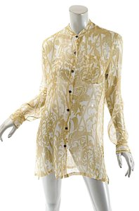 Dries van Noten Silk Metallic Tunic