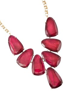 Kendra Scott Kendal Scott Harlow Statement Necklace In Burgundy Illusion