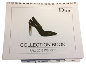 Dior Dior Fall 2013 Employee Collection Shoe Look Book Catalog Rare