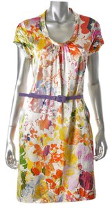 Elie Tahari Silk Designer Summer Dress