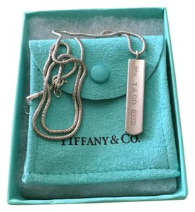 Tiffany & Co. Tiffany 1837 tag pendant