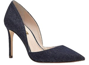 Louise et Cie Chic Classic Denim Blue Pumps