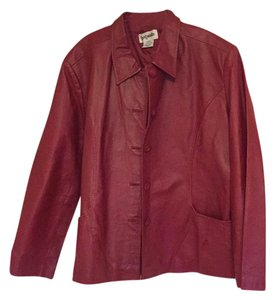 Bagatelle Red Leather Jacket