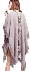 Anthropologie Montreux Fringed Wrap OS One Size