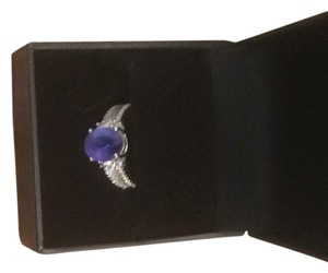AA Tanzanite ring tanzanite white gold ring two and five eights carat total weight