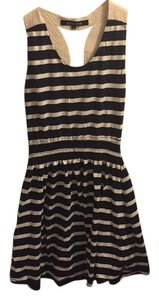 Ocean Drive Clothing short dress blue with white strips on Tradesy