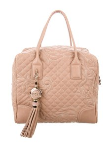 Versace Tote in Nude