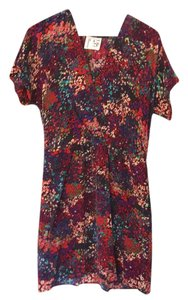 Twelfth St. by Cynthia Vincent short dress multi floral on Tradesy