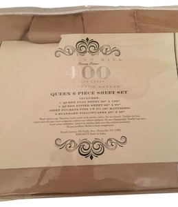 Bergdorf Goodman Sateen Queen Bedding Sheet Set