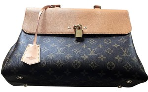 Louis Vuitton Leathr Lv Monogram Shoulder Bag