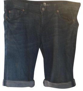 7 For All Mankind Bermuda Shorts denim