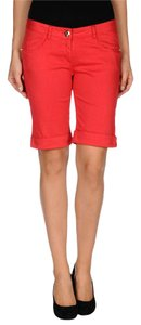 Blumarine Pants Shorts RED