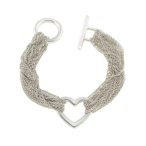 Tiffany & Co. Multi Strand Heart Bracelet