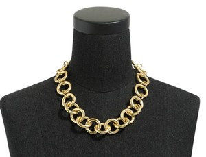 J.Crew Gold-Plated Chain Link Necklace item 01897
