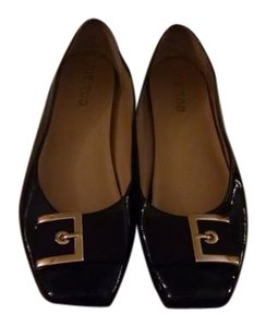 Me Too Patent Leather Brown Flats