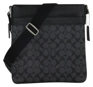 Coach F54781 F54781 Men Gift Ideas Handbag Black Messenger Bag