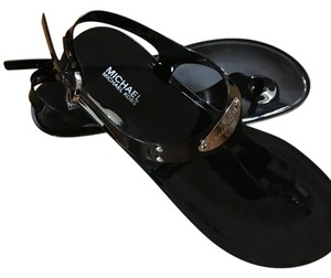 Michael Kors Blck Sandals