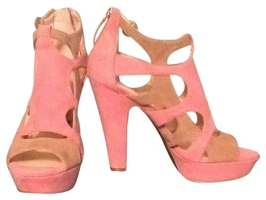 Enzo Angiolini Pink Taupe Sandals
