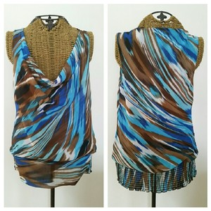 Cache Tank Top Turquoise