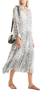 White Maxi Dress by See by Chloé Boho Chic Summer Romantic Chloe