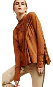 Free People Top camel