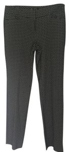 New York & Company Straight Pants black and white