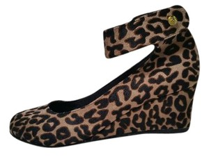 J. Renee Leopard Wedges