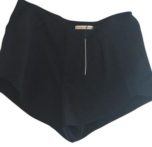 Alice + Olivia Mini/Short Shorts black
