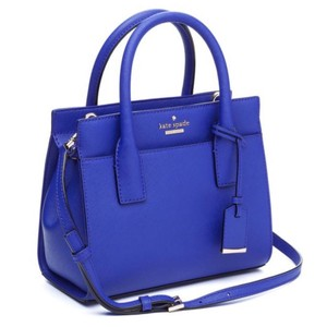 Kate Spade Satchel in Night life blue