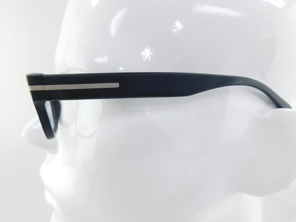 15d8ba2b7be Prada Matte Black Like New Vpr 22r 1bo-1o1 Plastic 52mm Sunglasses - Tradesy