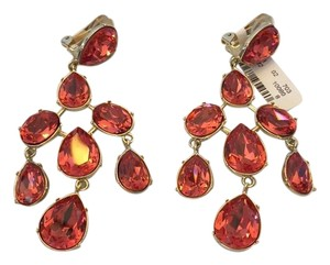 Oscar de la Renta OSCAR DE LA RENTA NWT FLOATING CRYSTAL CHANDELIER EARRINGS ($390)